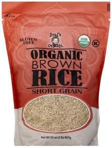 Brads Organic Brown Rice Organic, Short Grain