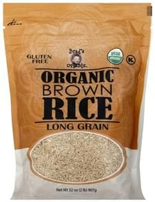 Brads Organic Brown Rice Organic, Long Grain