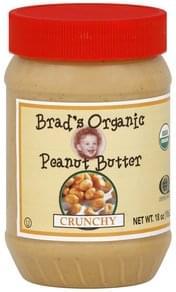 Brads Organic Peanut Butter Crunchy