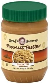 Brads Naturals Peanut Butter Smooth