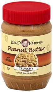 Brads Naturals Peanut Butter Crunchy
