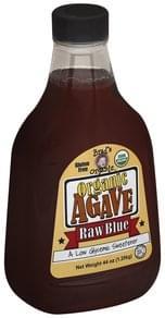 Brads Organic Agave Organic, Raw Blue