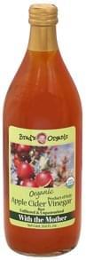Brads Organic Vinegar Organic, Apple Cider