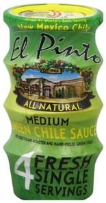 El Pinto Green Chile Sauce Medium