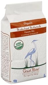 Great River Pancake Mix Organic, Buckwheat Buttermilk