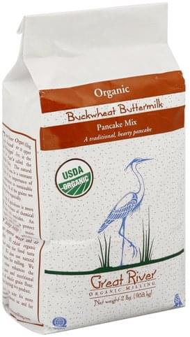 Great River Organic, Buckwheat Buttermilk Pancake Mix - 2 lb