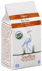 Great River Pancake Mix Organic, Five Grain