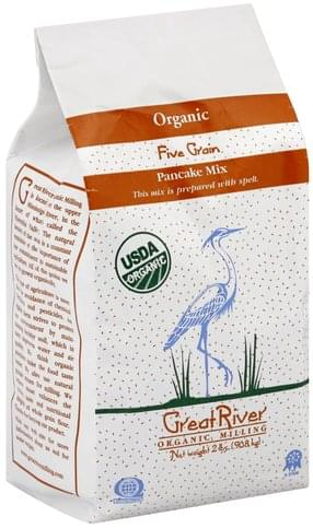 Great River Organic, Five Grain Pancake Mix - 2 lb