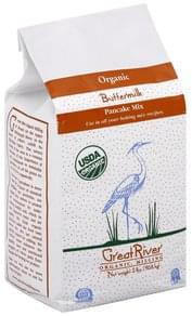 Great River Pancake Mix Organic, Buttermilk