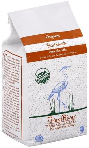 Great River Organic, Buttermilk Pancake Mix - 2 lb