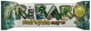 ReBar Seeds 'n Greens Energy Bar Plum-Pomegranate