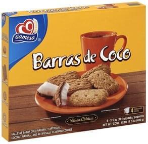 Gamesa Cookies Coconut