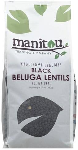 Manitou Trading Black Beluga Lentils