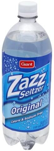 Giant Original Seltzer - 33.8 oz