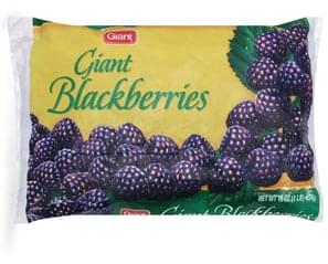 Giant Blackberries Giant