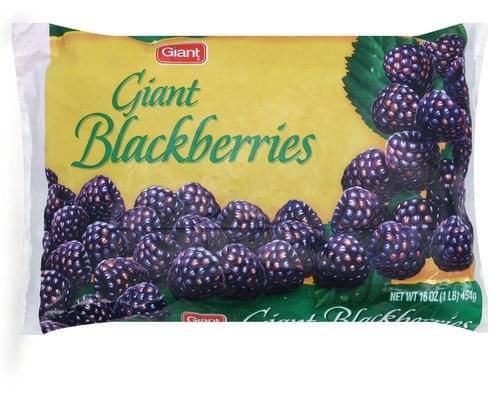 Giant Giant Blackberries - 16 oz