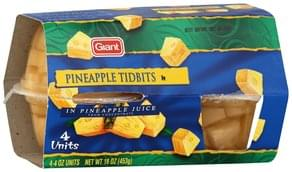 Giant Pineapple Tidbits in Pineapple Juice
