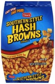 Giant Hash Browns Potatoes Southern Style