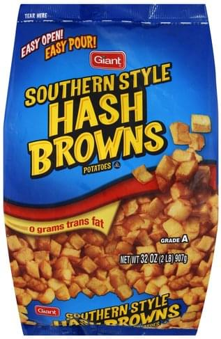 Giant Southern Style Hash Browns Potatoes - 32 oz