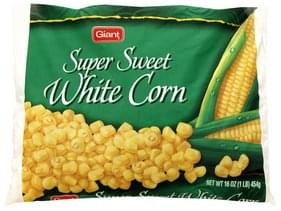 Giant Super Sweet White Corn