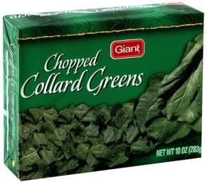 Giant Collard Greens Chopped