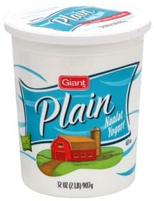 Giant Nonfat Yogurt Plain