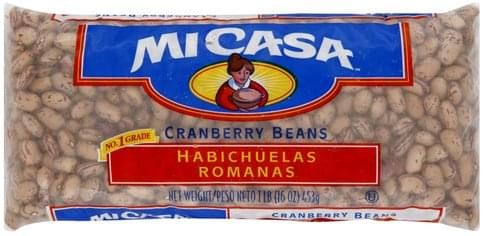 Mi Casa Cranberry Beans - 16 oz