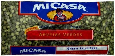 Mi Casa Green Split Peas - 16 oz