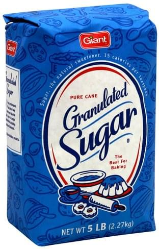 Giant Granulated Sugar - 5 lb