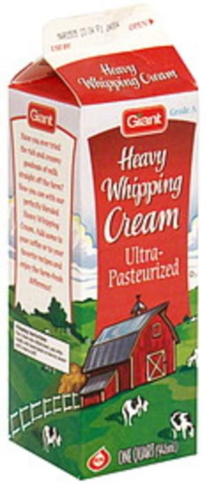 Giant Heavy Whipping Cream - 1 QT