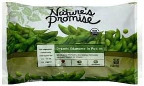 Natures Promise Organic Edamame in Pod