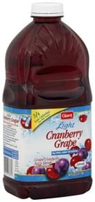 Giant Juice Drink Cranberry Grape, Light