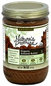 Natures Promise Almond Butter Smooth, Unsalted