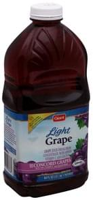 Giant Juice Drink Grape, Light