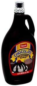 Giant Chocolate Flavored Syrup