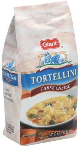Giant Three Cheese Tortellini - 8.9 oz