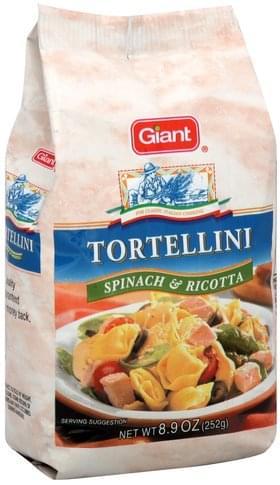 Giant Spinach & Ricotta Tortellini - 8.9 oz