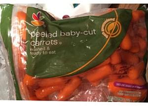 Giant Peeled Baby-Cut Carrots