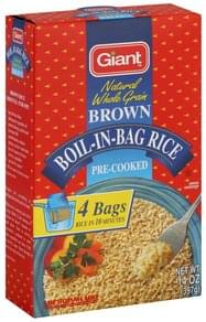 Giant Rice Boil-in-Bag, Brown
