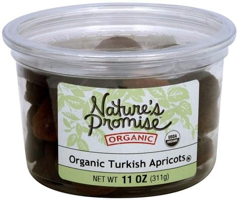 Natures Promise Organic Turkish Apricots - 11 oz
