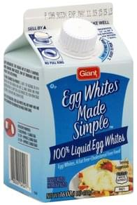 Giant Egg Whites Liquid