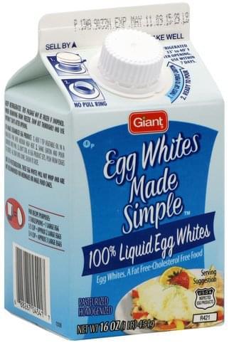 Giant Liquid Egg Whites - 16 oz