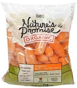 Natures Promise Organic Baby Cut Carrots