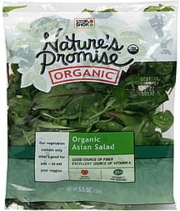 Natures Promise Organic Asian Salad