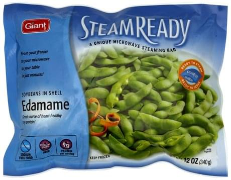 Giant Edamame Soybeans in Shell - 12 oz