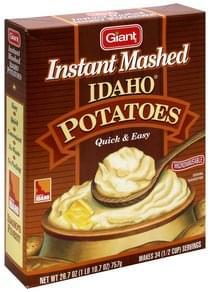 Giant Instant Mashed Potatoes Idaho