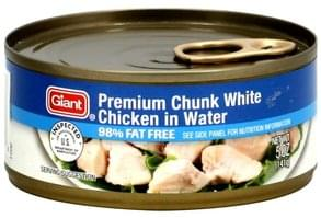 Giant Premium Chunk White Chicken in Water