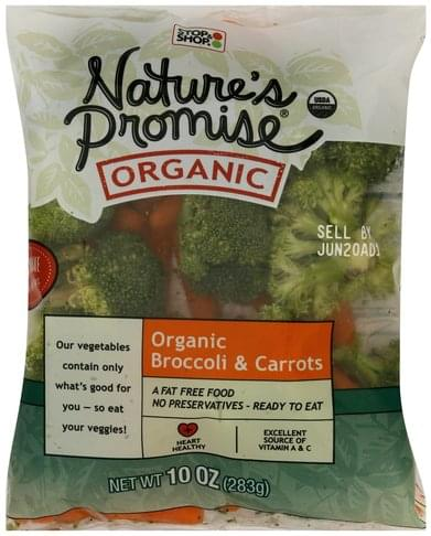 Natures Promise Broccoli & Carrots - 10 oz