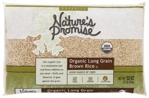 Natures Promise Brown Rice Organic Long Grain