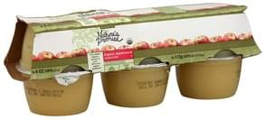 Natures Promise Applesauce Organic, Unsweetened